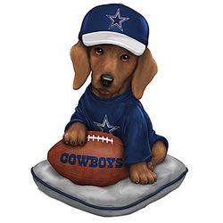 Dallas Cowboys Sunday Afternoon Quarter-Bark Figurine