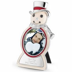 Cheery Snowman Picture Frame