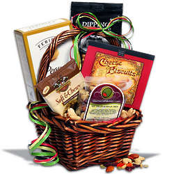 Gourmet Snacks Gift Basket