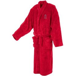 Los Angeles Angels Men's Ultra Plush Red Bathrobe