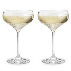 Wedgewood Sequin Champagne Toasting Flutes