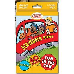 Scavenger Hunt Fun in the Car Game