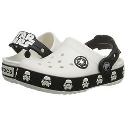Boy's Star Wars Lighted Stormtrooper Clog Shoes