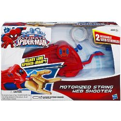 Ultimate SpiderMan Motorized String Web Shooter Toy
