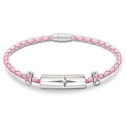 Strength of Hope Breast Cancer Awareness Diamond Bracelet
