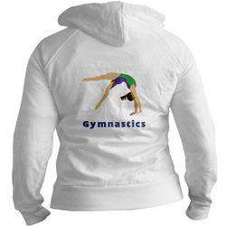 Girl Gymnast Jr Hoodie