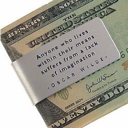Lack of Imagination Money Clip