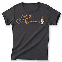 H is for Hot Toddy T-shirt