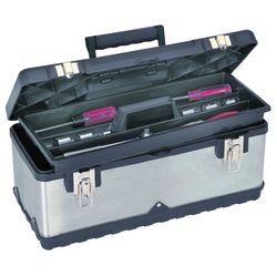 "Storehouse 20"" Stainless Steel Toolbox"