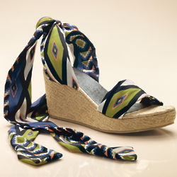 Grand Terre Wedge Sandals