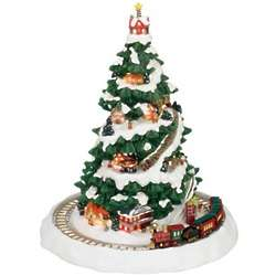 Winter Wonderland Christmas Express Musical Tree