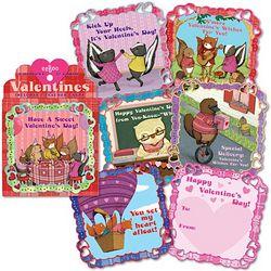 Animal Village Valentines