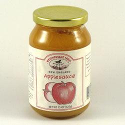 New England Apple Sauce Jar