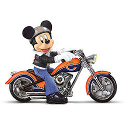 Mickey Mouse Headed For Victory Chicago Bears Figurine