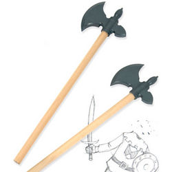 Medieval Axe Erasers Pencil Set