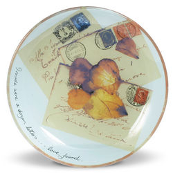 Love Letters Glass Plate