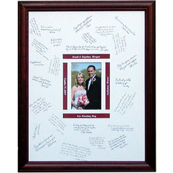 "Personalized 14"" x 18"" Signature Frame"