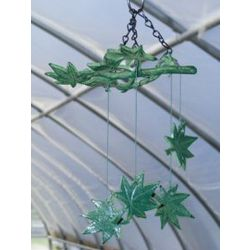 Japanese Wind Chime Set Maple Leaves