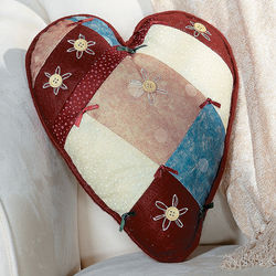 Country Heart Pillow