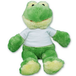 Jules the Frog with Customized T-Shirt