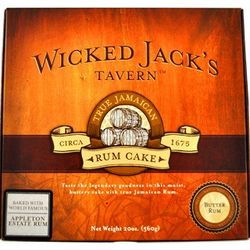 Wicked Jack's Chocolate Rum Cake