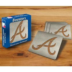 Atlanta Braves Boaster Coasters