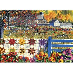 Autumn Farm Scene Puzzle