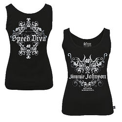 Lady's NASCAR Jimmie Johnson Speed Diva Tank