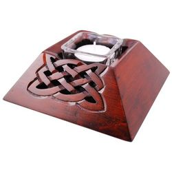 Celtic Square Candle Holder