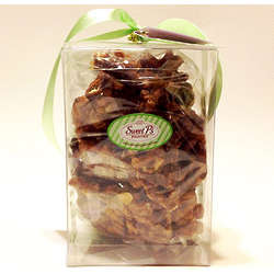 Pretzel Almond Crunch Toffee