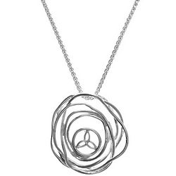 Sterling Silver Celtic Cradle of Life Pendant