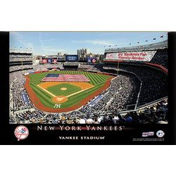 New York Yankees 16x24 Personalized Stadium Canvas