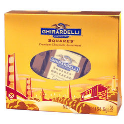 San Francisco Gold Tote Chocolate Gift Box
