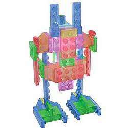 Robot Series Laser Pegs Construction Set