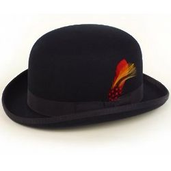 Men's Deluxe Wool Felt Derby Hat
