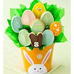 Easter Buttercream Cookies Bouquet