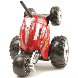 RC Stunt Rumbler Rally Car in Red