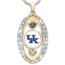 For The Love Of The Game Kentucky Wildcats Pendant