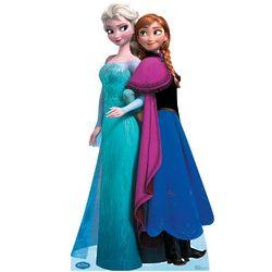 Disney Frozen Elsa & Anna Stand-Up Cutouts