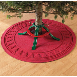 Ultra-Absorbent Christmas Tree Mat
