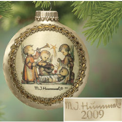 2009 Silk Hummel Ornament