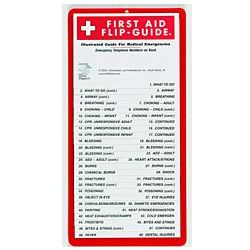 First Aid Flip Guide for Medical Emergencies