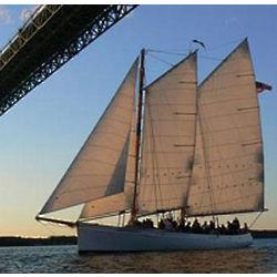 Sunset Schooner Sailing for Two in New York