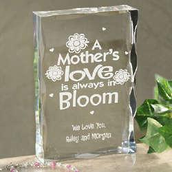 Love Always in Bloom Plaque