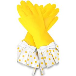 Luscious Lemons Cleaning Gloves