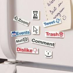 Social Talk Magnets