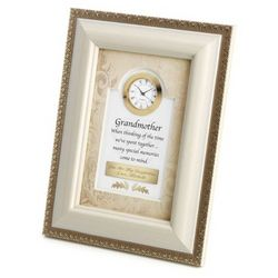 Grandmother Picture Frame Clock