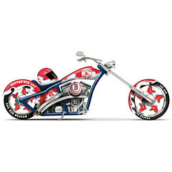 Home Run Racer Boston Red Sox Motorcycle Figurine