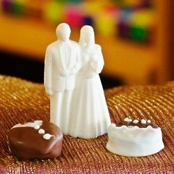 Chocolate Bride and Groom