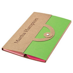 Personalized Eco-Friendly Notepad